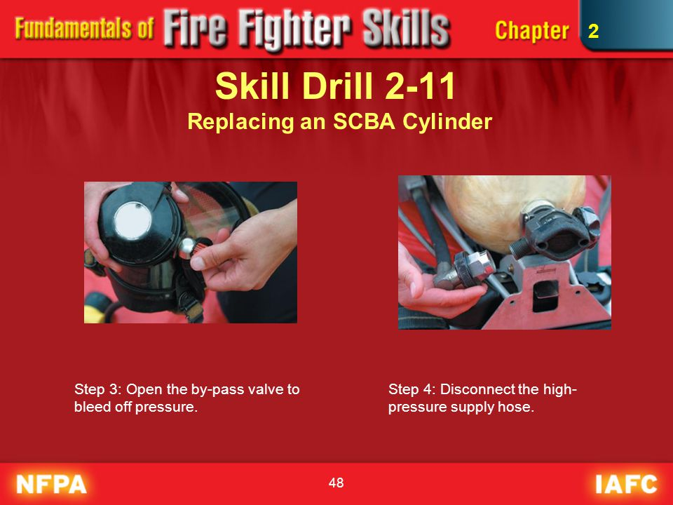 Skill Drill 2-11 Replacing an SCBA Cylinder