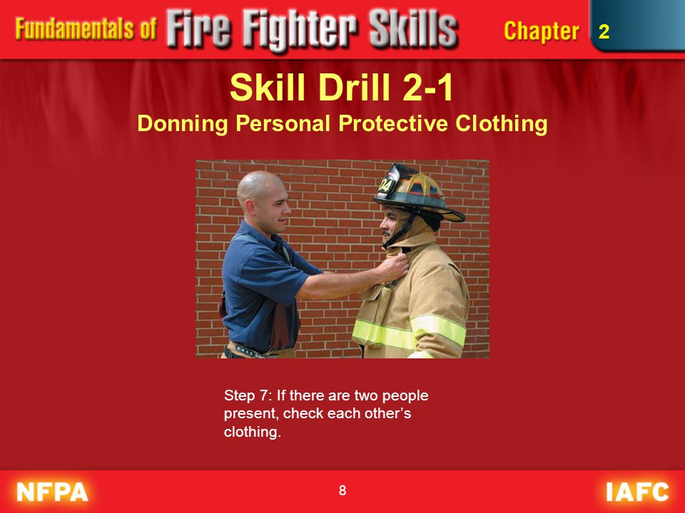 Skill Drill 2-1 Donning Personal Protective Clothing