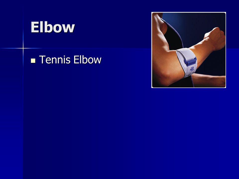 Elbow Tennis Elbow