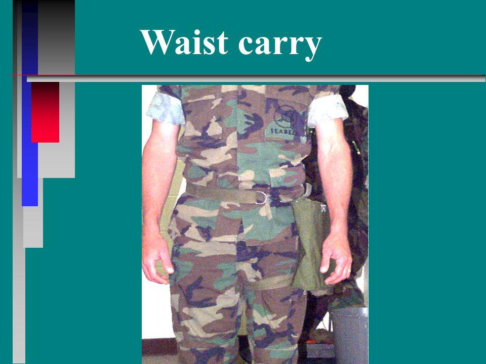 Waist carry