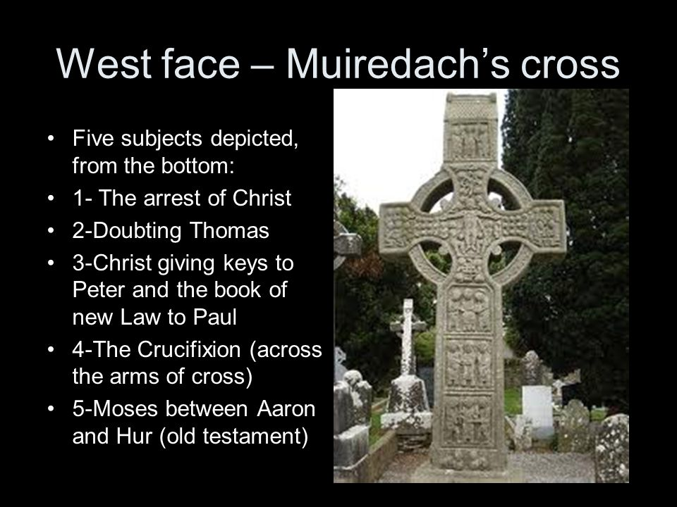 West face – Muiredach's cross