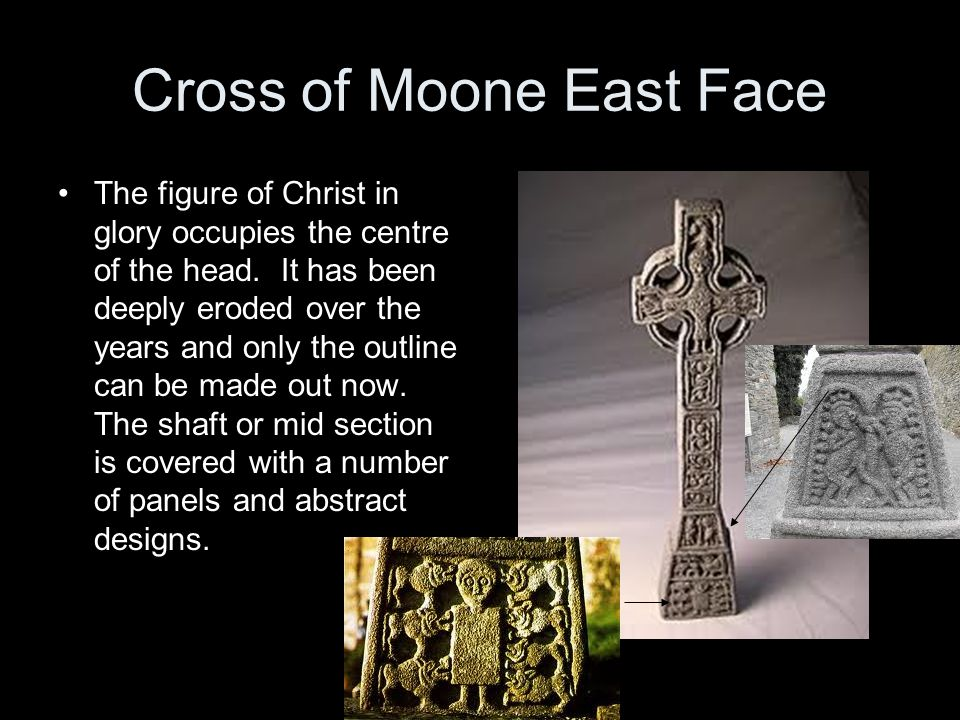 Cross of Moone East Face
