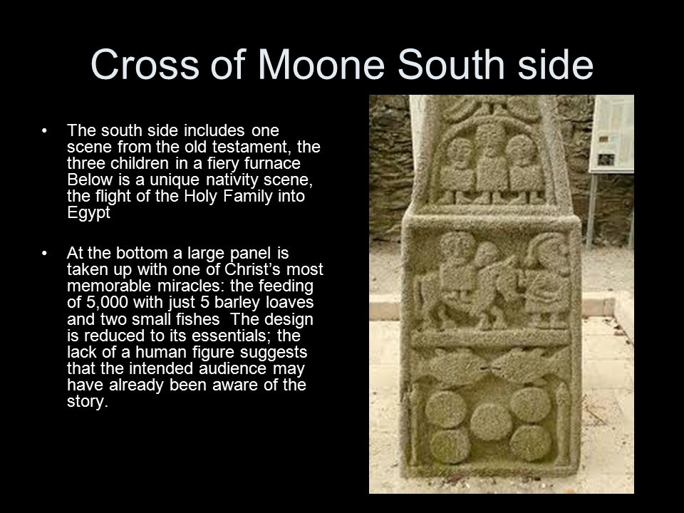 Cross of Moone South side