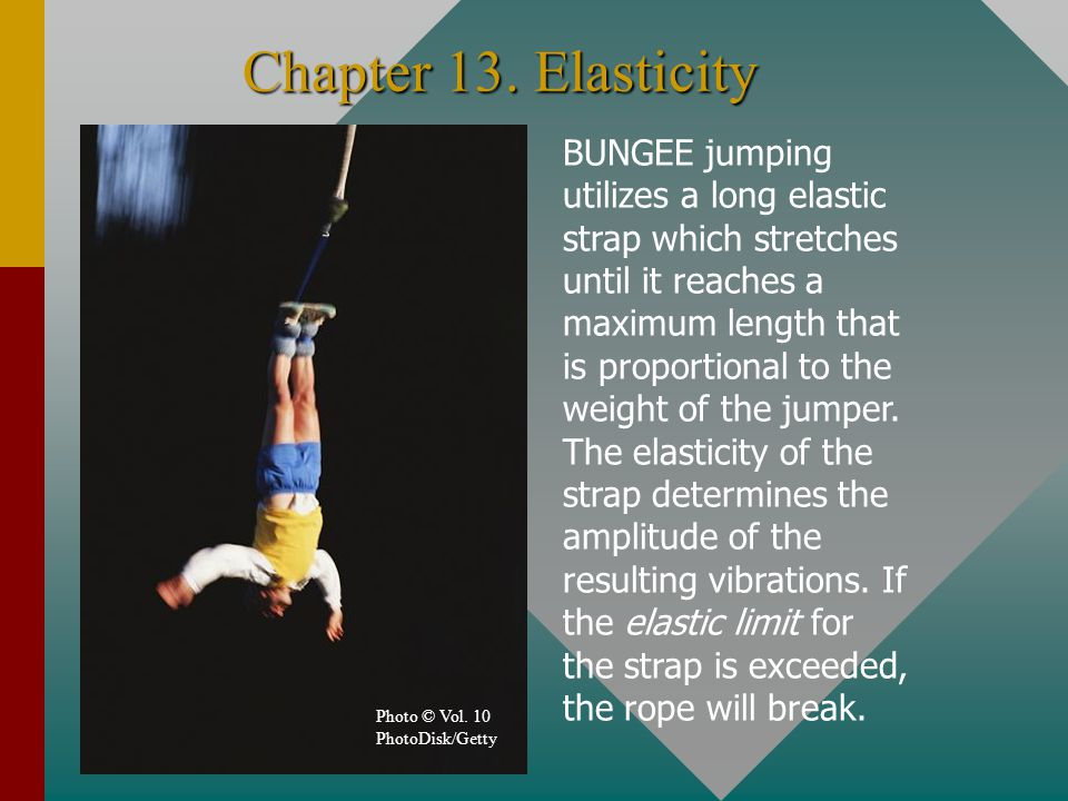 Chapter 13. Elasticity