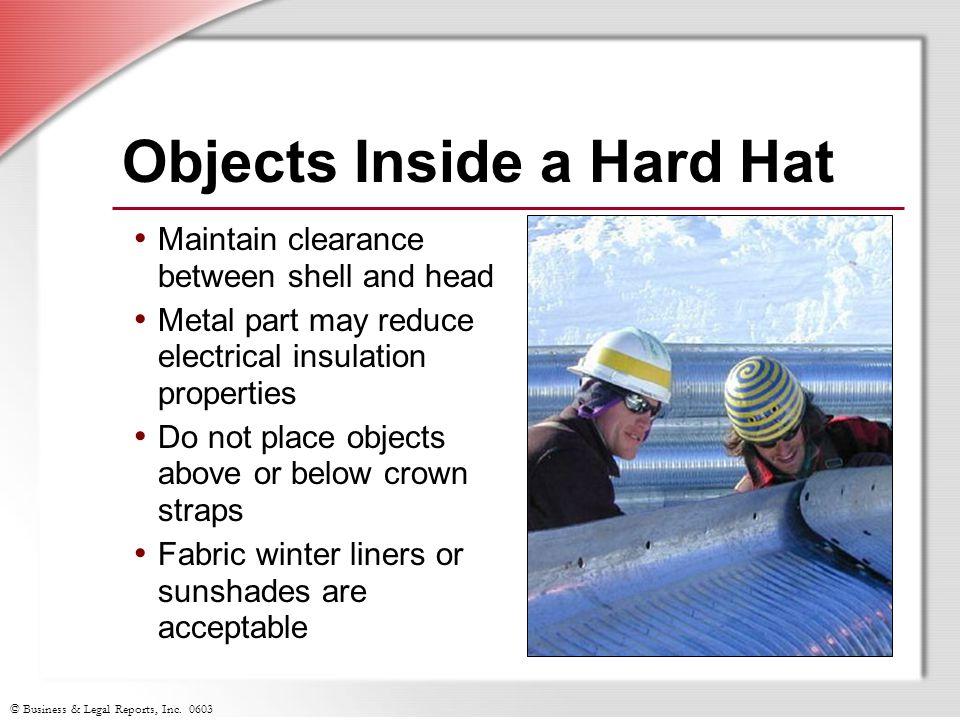 Objects Inside a Hard Hat