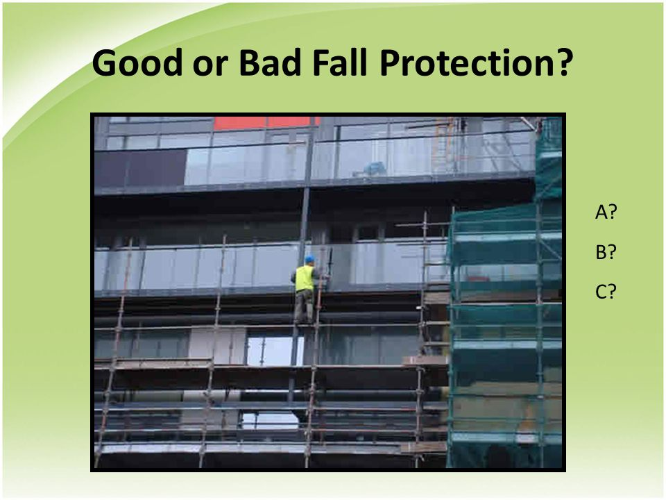Abc S Of Fall Protection Ppt Download