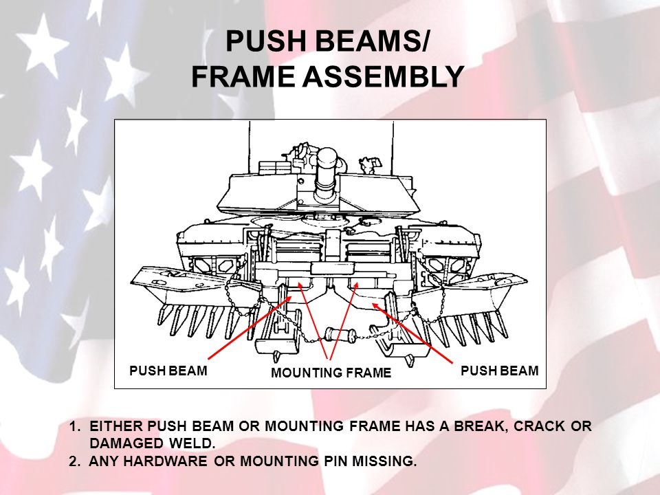 PUSH BEAMS/ FRAME ASSEMBLY