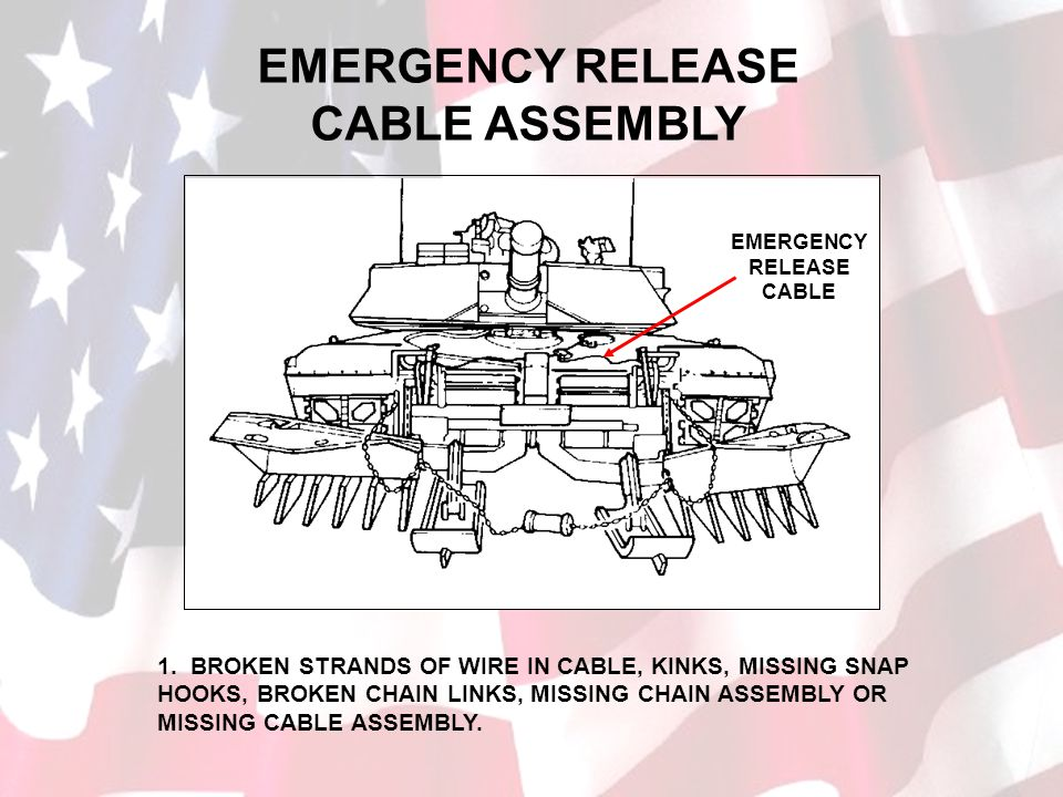 EMERGENCY RELEASE CABLE ASSEMBLY