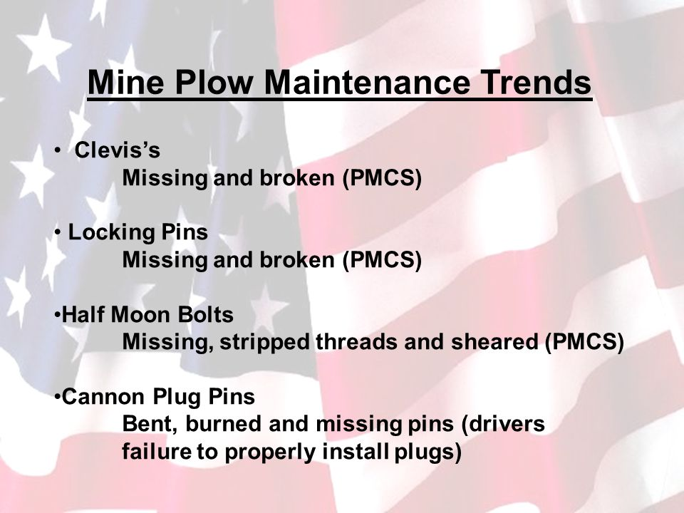 Mine Plow Maintenance Trends