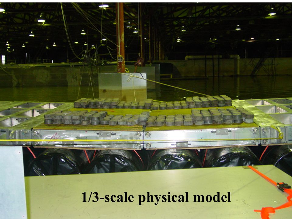 1/3-scale physical model