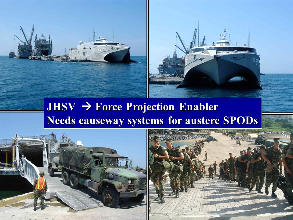 JHSV  Force Projection Enabler