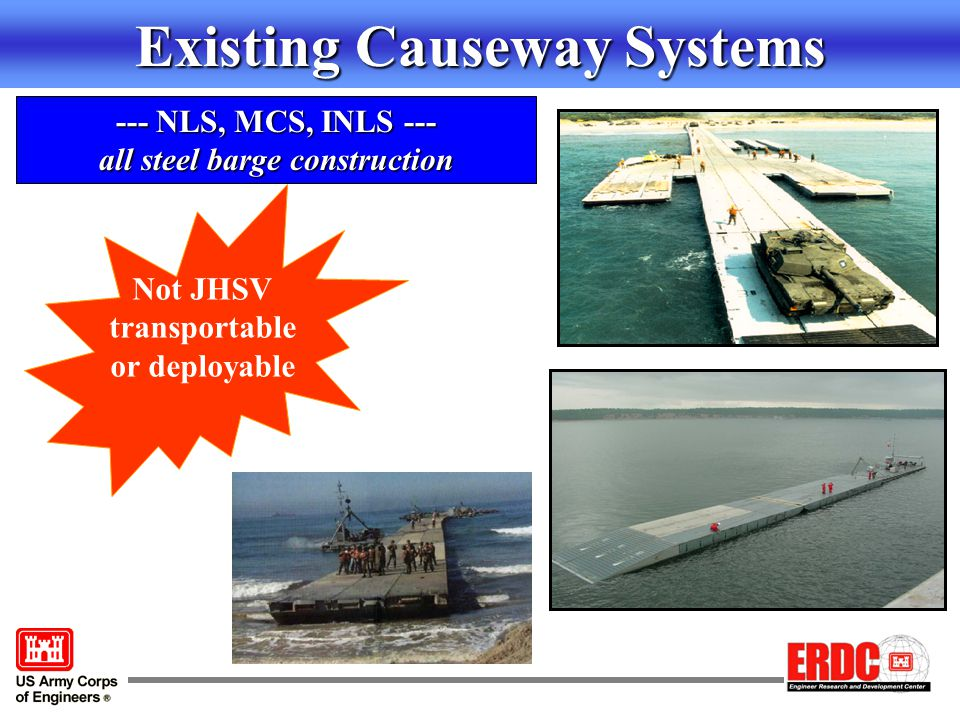 Existing Causeway Systems
