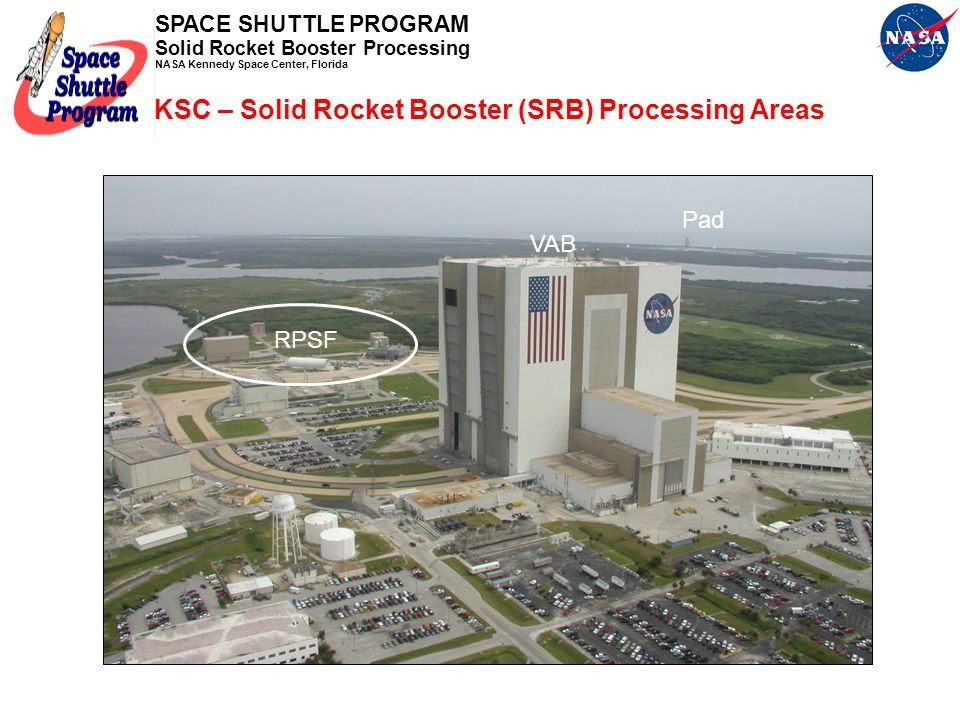 KSC – Solid Rocket Booster (SRB) Processing Areas