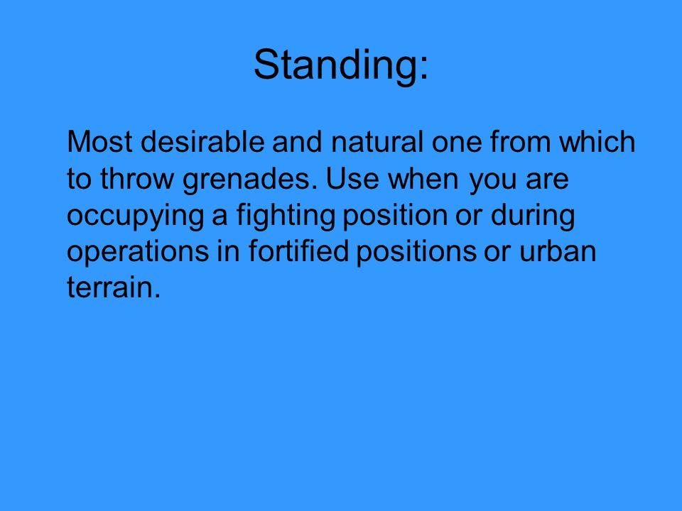 Standing:
