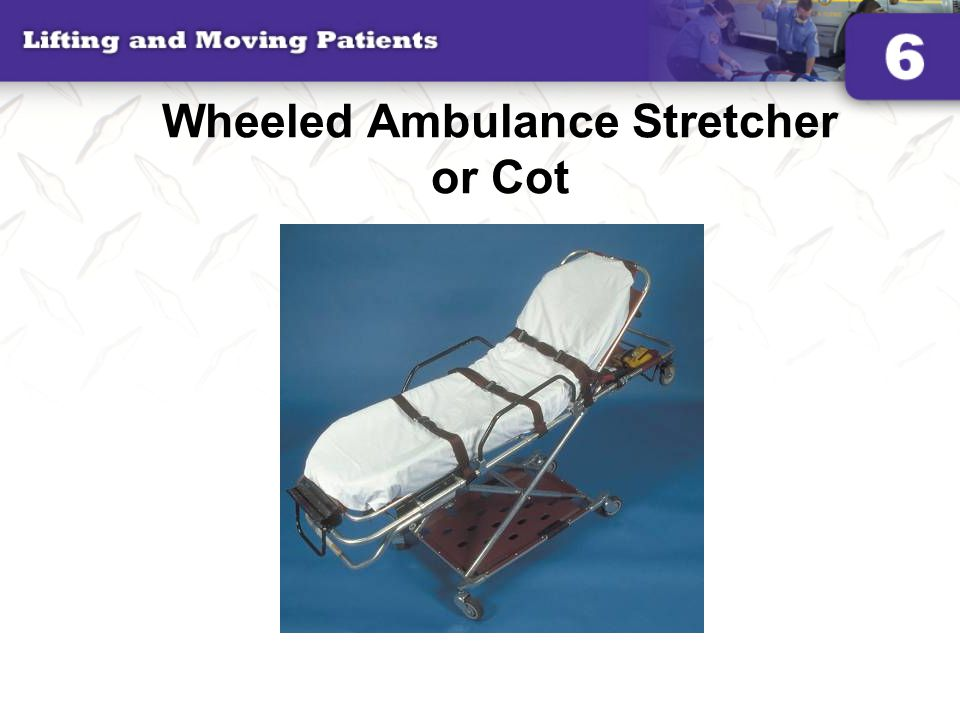 Wheeled Ambulance Stretcher or Cot