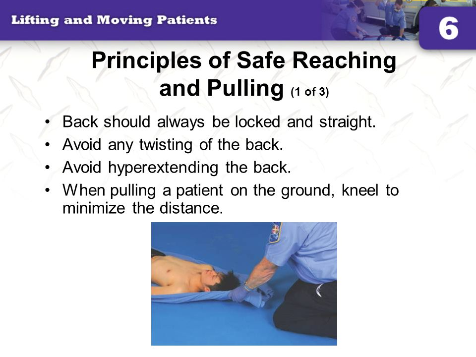 Principles of Safe Reaching and Pulling (1 of 3)