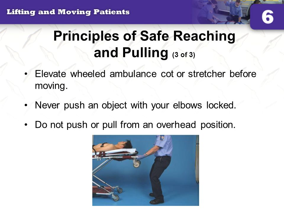 Principles of Safe Reaching and Pulling (3 of 3)
