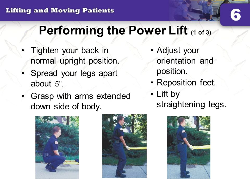 Performing the Power Lift (1 of 3)