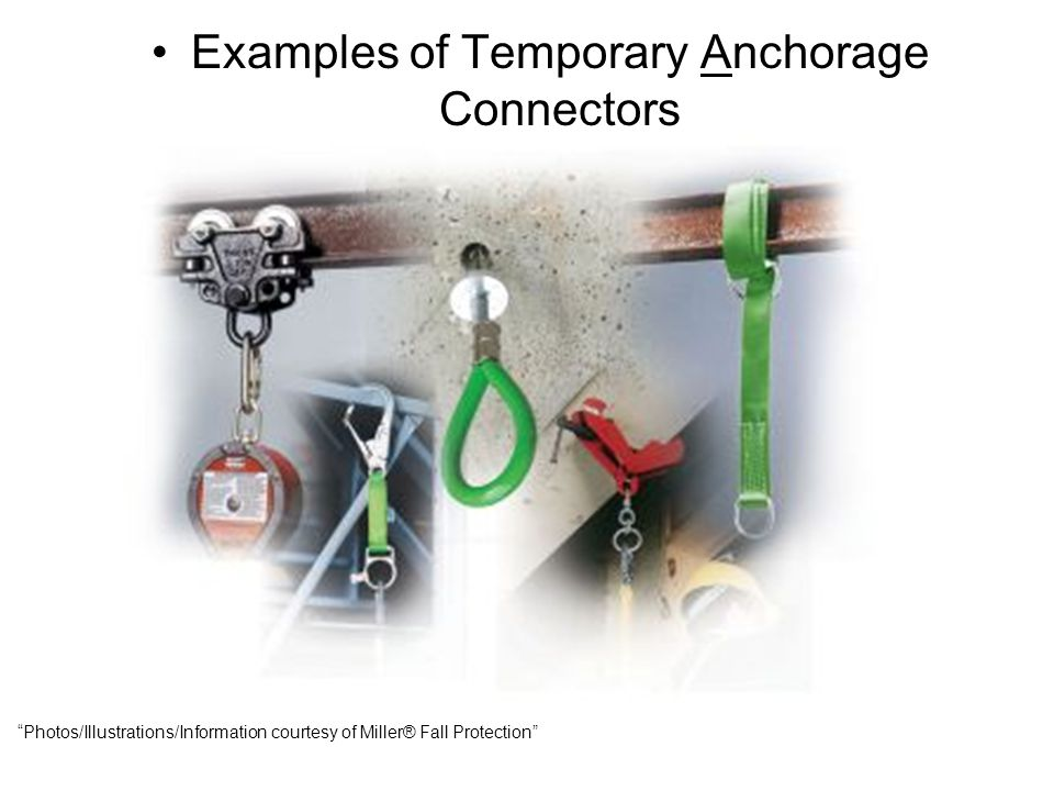 Examples of Temporary Anchorage Connectors