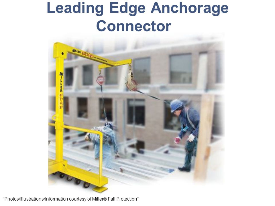 Leading Edge Anchorage Connector