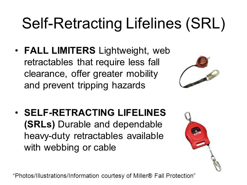 Self-Retracting Lifelines (SRL)