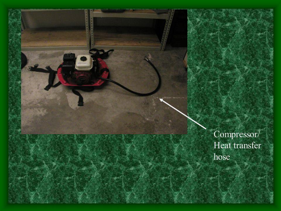 Compressor/Heat transfer hose