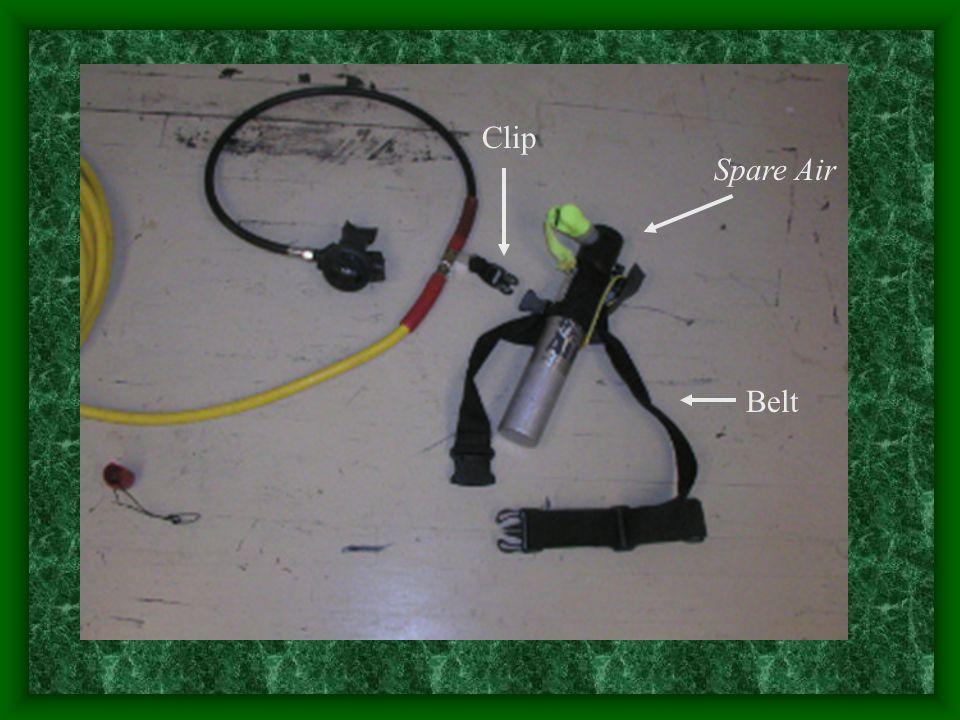 Clip Spare Air Belt