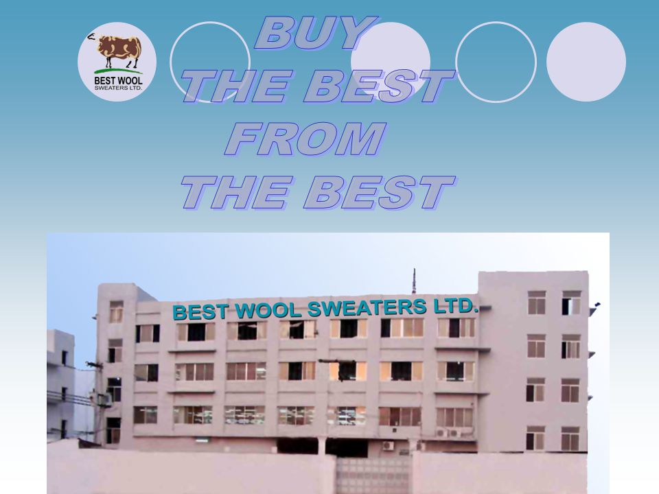 BUY THE BEST FROM