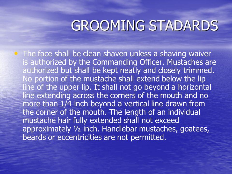 GROOMING STADARDS