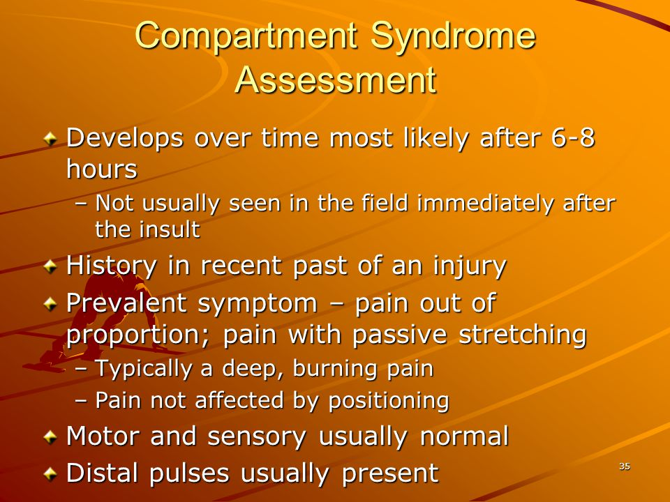 Compartment Syndrome Assessment