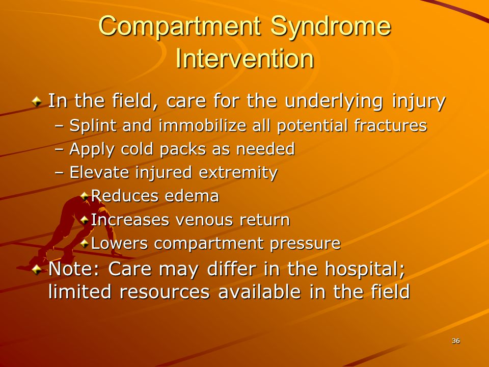 Compartment Syndrome Intervention