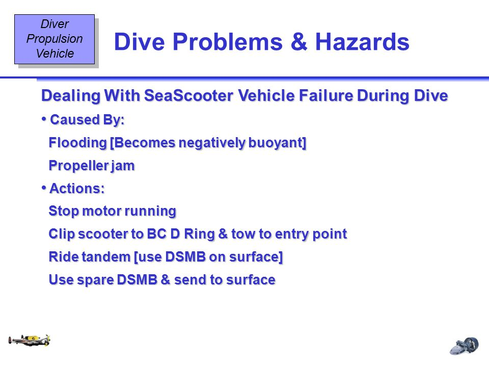 Dive Problems & Hazards
