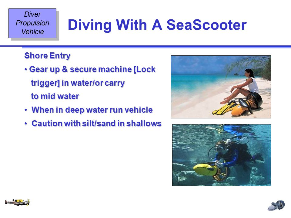 Diving With A SeaScooter