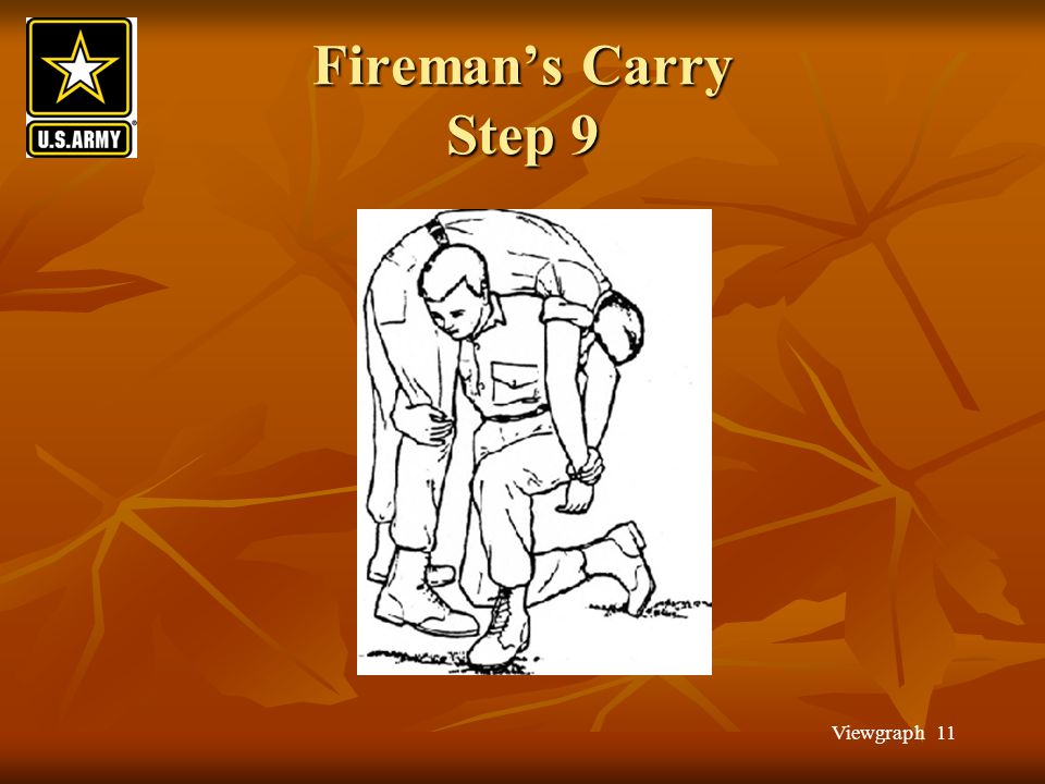 Fireman's Carry Step 9