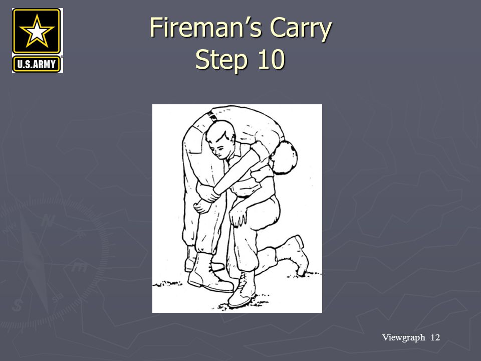Fireman's Carry Step 10