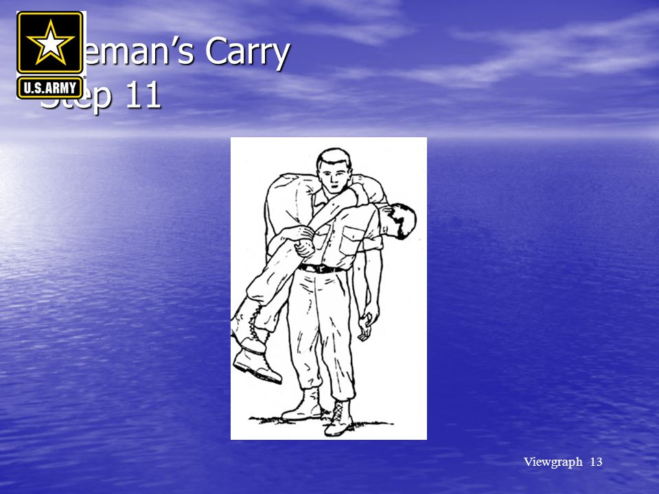 Fireman's Carry Step 11