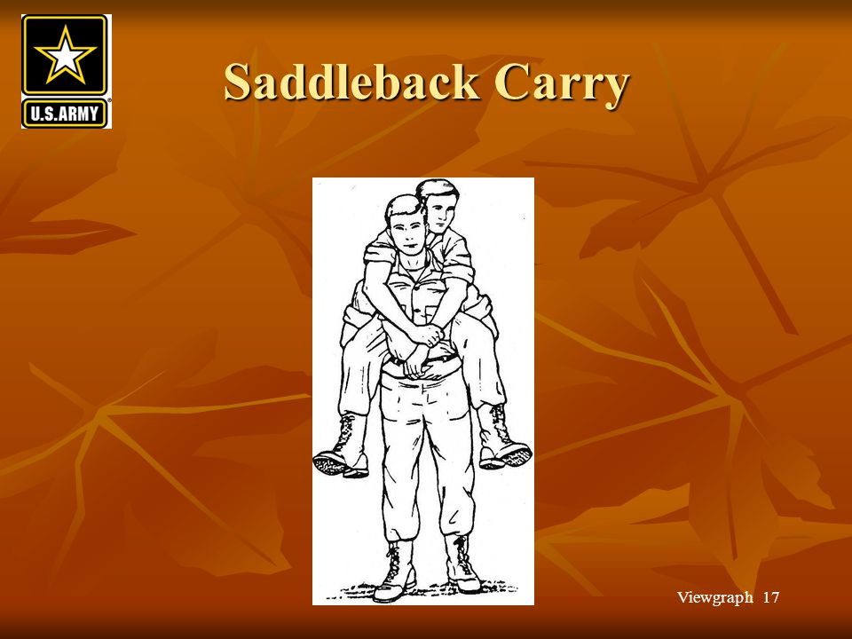 Saddleback Carry