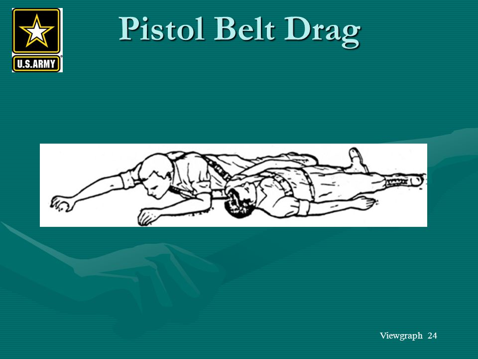 Pistol Belt Drag
