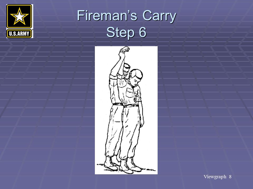 Fireman's Carry Step 6