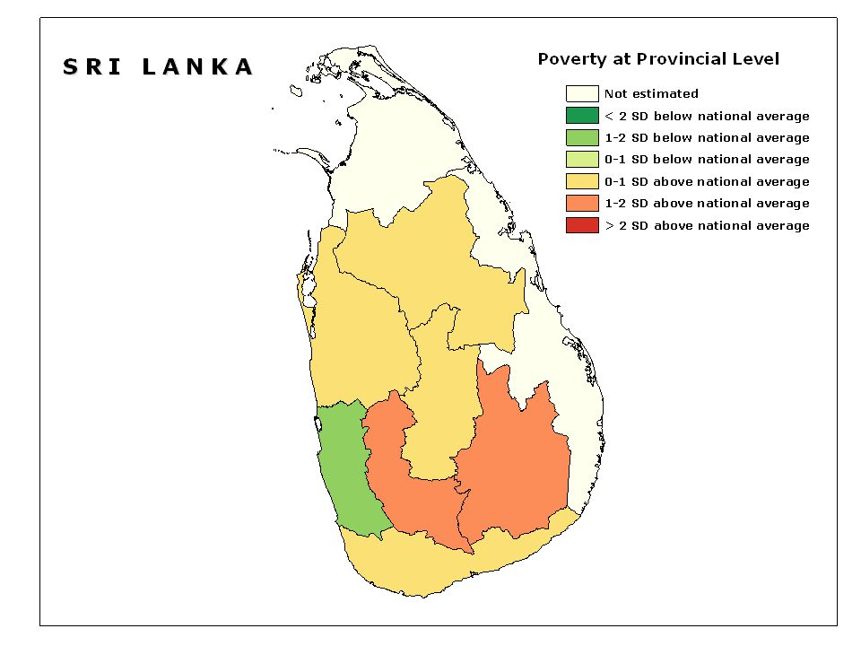 File: slprovince.shp (Poverty at provincial level)