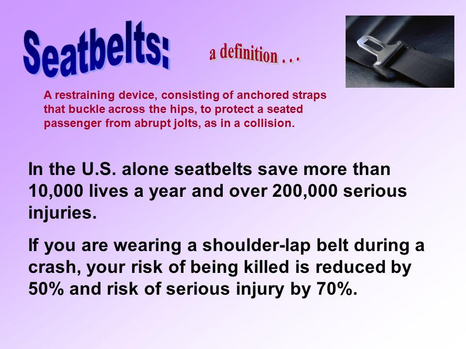 Seatbelts: a definition . . .