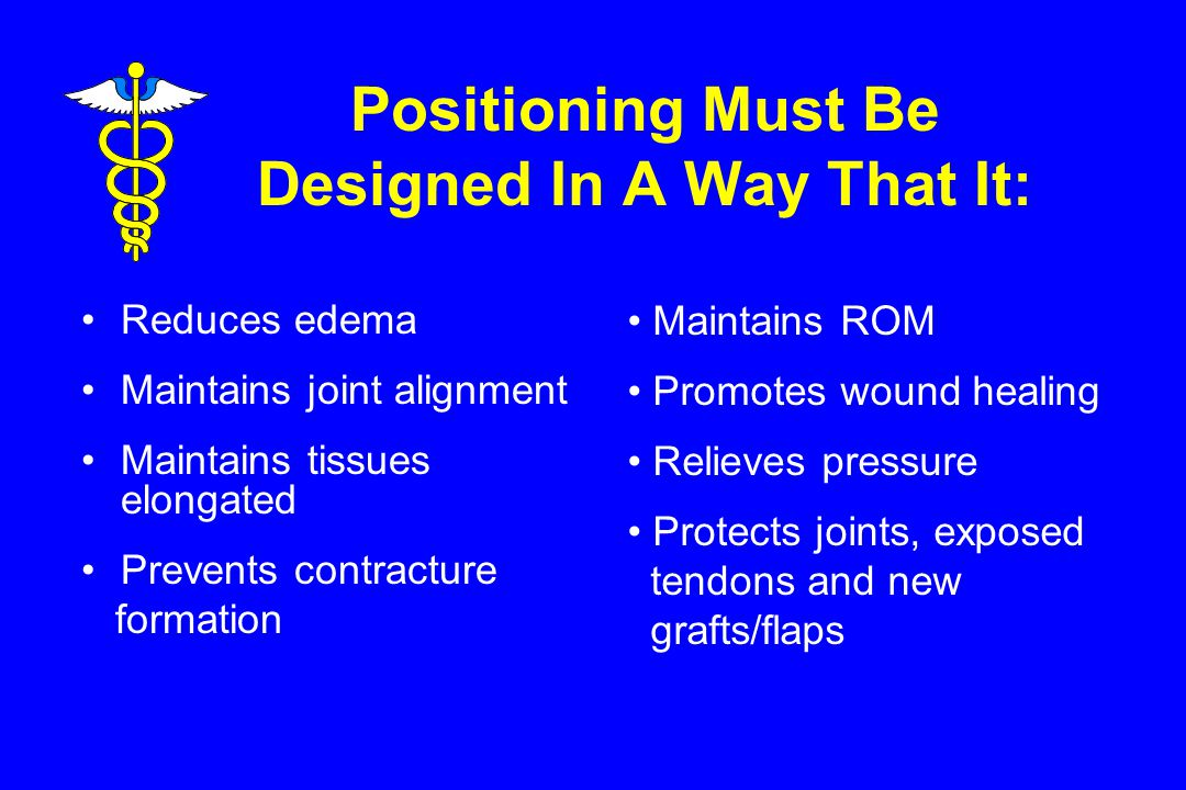Positioning Must Be Designed In A Way That It: