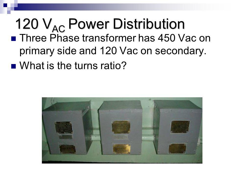 120 VAC Power Distribution