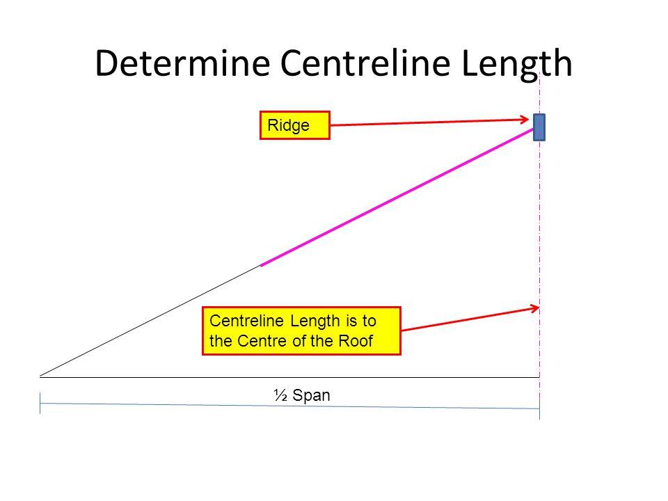 Determine Centreline Length