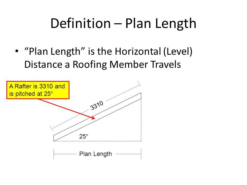 Definition – Plan Length