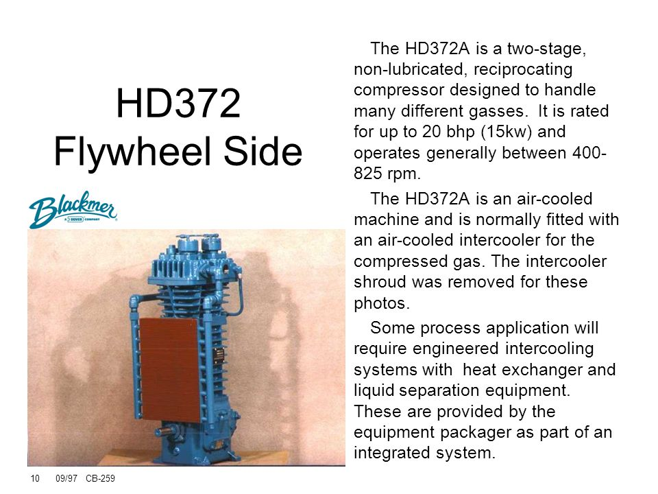 HD372 Flywheel Side