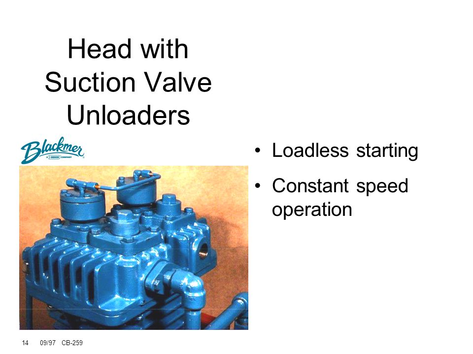Head with Suction Valve Unloaders