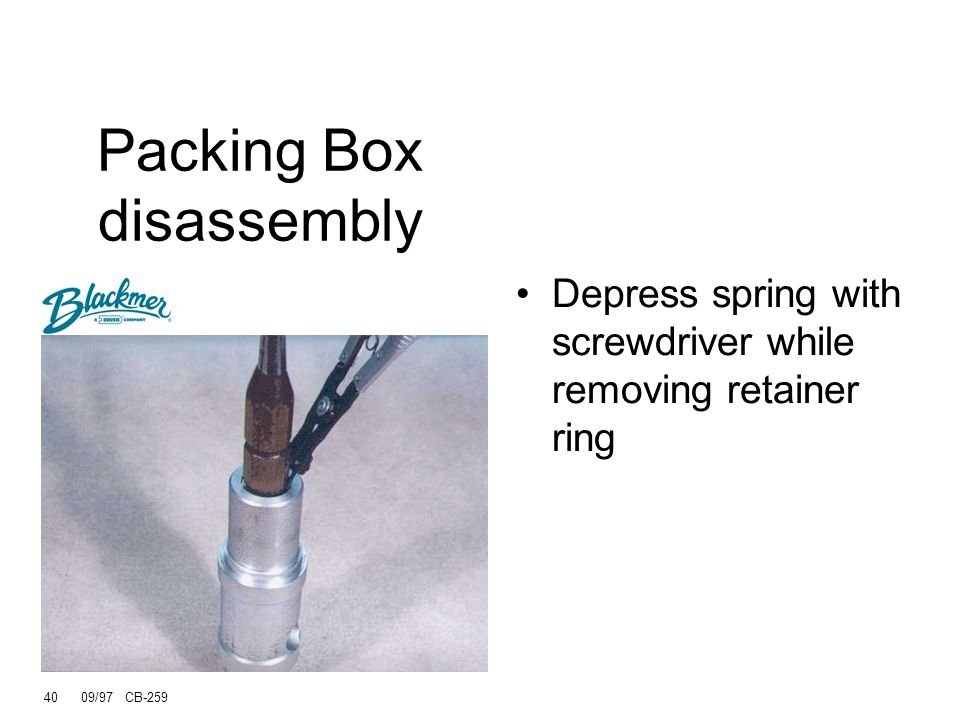 Packing Box disassembly