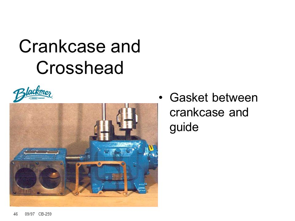 Crankcase and Crosshead