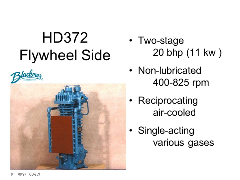 HD372 Flywheel Side Two-stage 20 bhp (11 kw )